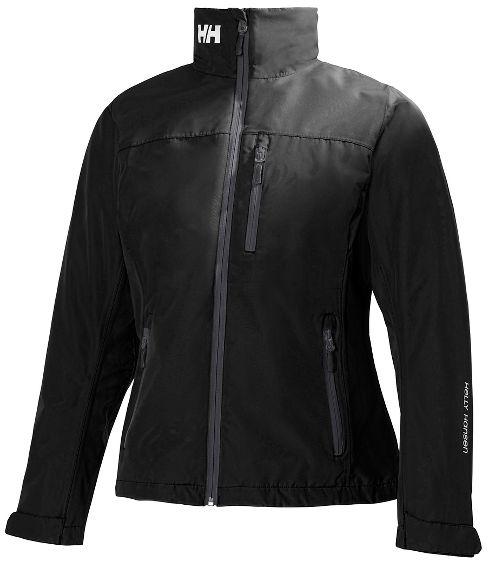 Womens Helly Hansen Crew Midlayer Cold Weather Jackets - Black L