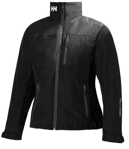 Womens Helly Hansen Crew Midlayer Cold Weather Jackets - Black XL