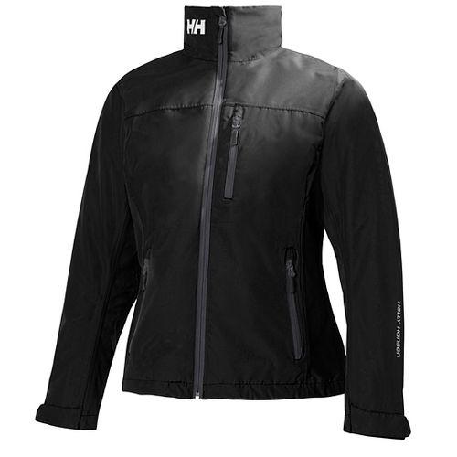 Womens Helly Hansen Crew Midlayer Cold Weather Jackets - Black M