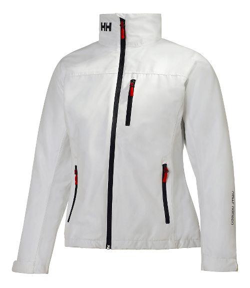 Womens Helly Hansen Crew Midlayer Cold Weather Jackets - White XXL