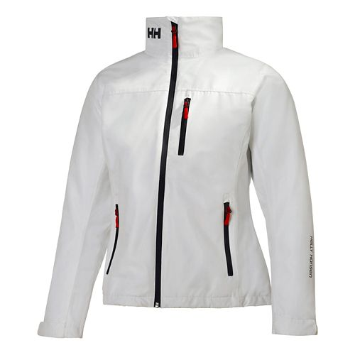 Womens Helly Hansen Crew Midlayer Cold Weather Jackets - White XS