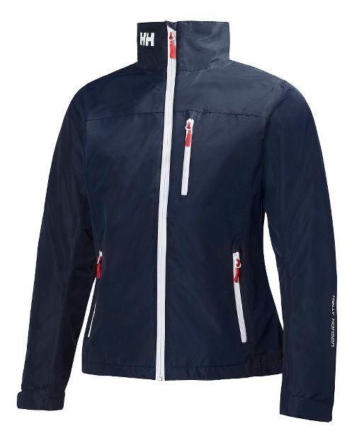 Womens Helly Hansen Crew Midlayer Cold Weather Jackets - Navy XL