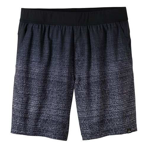 Mens prAna Overhold Lined Shorts - White S