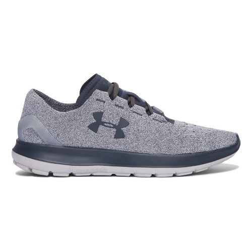 Mens Under Armour Speedform Slingride Running Shoe - Grey/Grey 10
