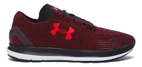Mens Under Armour Speedform Slingride Running Shoe - Anthem Red/Black 10.5