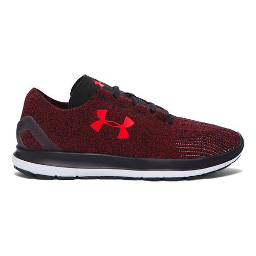 Mens Under Armour Speedform Slingride Running Shoe - Anthem Red/Black 11