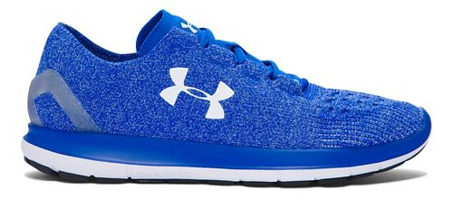 Mens Under Armour Speedform Slingride Running Shoe - Ultra Blue/White 7