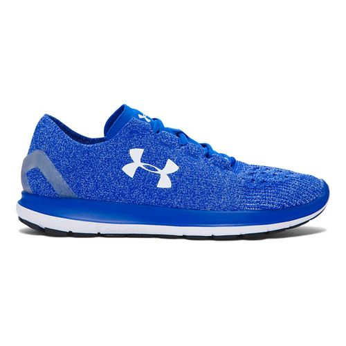 Mens Under Armour Speedform Slingride Running Shoe - Ultra Blue/White 10.5