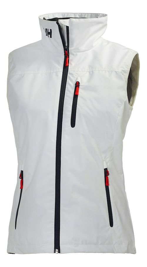 Womens Helly Hansen Crew Vests Jackets - White M