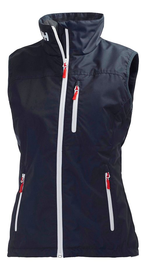 Womens Helly Hansen Crew Vests Jackets - Navy M