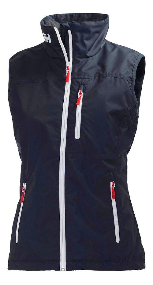 Womens Helly Hansen Crew Vests Jackets - Navy XS