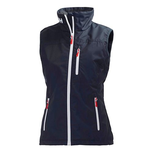 Womens Helly Hansen Crew Vests Jackets - Navy S