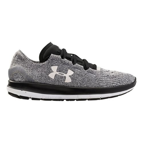 Womens Under Armour Speedform Slingride Running Shoe - Grey/Black 8