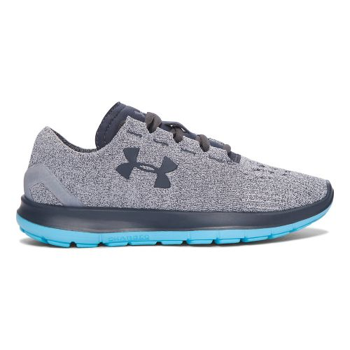 Womens Under Armour Speedform Slingride Running Shoe - Glacier Grey 10