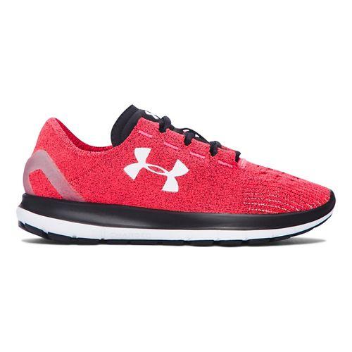 Womens Under Armour Speedform Slingride Running Shoe - Pink Chroma/Black 7