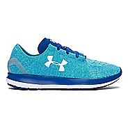 Womens Under Armour Speedform Slingride Running Shoe - Lime/Heron 8.5