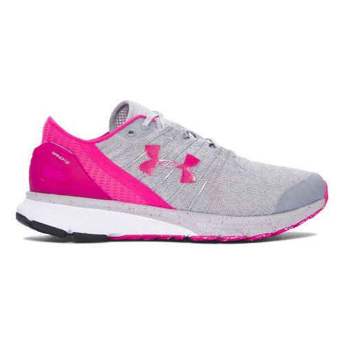Womens Under Armour Charged Bandit 2 Running Shoe - Overcast Grey 5.5