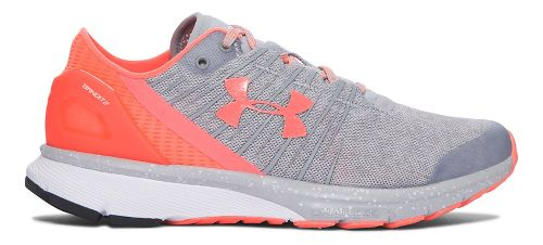 Womens Under Armour Charged Bandit 2 Running Shoe - Orange 5