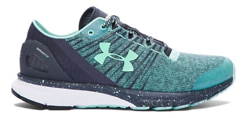 Womens Under Armour Charged Bandit 2 Running Shoe - Crystal/Stealth Grey 7.5