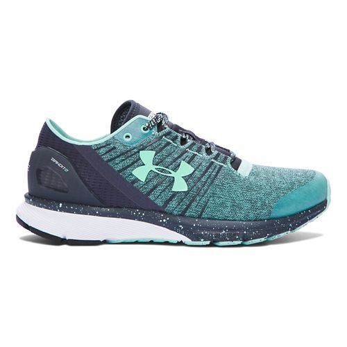 Womens Under Armour Charged Bandit 2 Running Shoe - Crystal/Stealth Grey 9.5