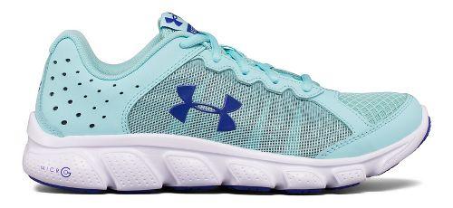 Kids Under Armour Micro G Assert 6 Running Shoe - Blue/White 5.5Y
