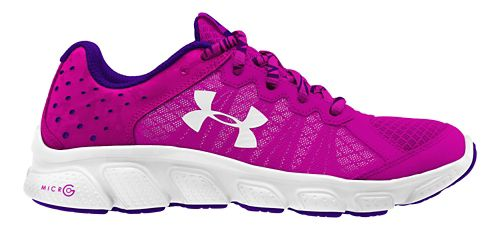 Kids Under Armour Micro G Assert 6 Running Shoe - Pink/White 5Y
