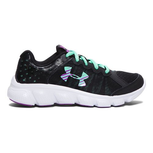 Kids Under Armour Assert 6 Running Shoe - Black 11C