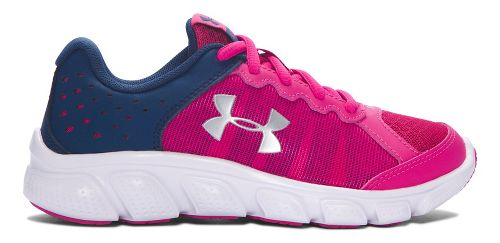 Kids Under Armour Assert 6 Running Shoe - Tropic Pink/Navy 11C