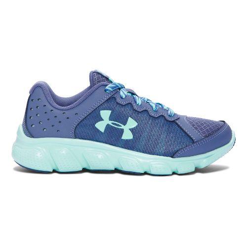 Kids Under Armour Assert 6 Running Shoe - Purple/Teal 11C