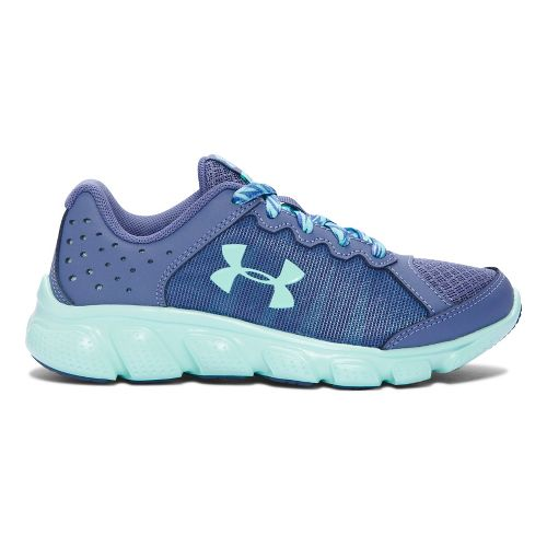 Kids Under Armour Assert 6 Running Shoe - Purple/Teal 2Y
