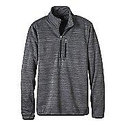 Mens prAna Gatten 1/4 Zip Long Sleeve Half Zip Non-Technical Tops