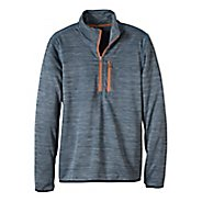 Mens prAna Gatten 1/4 Zip Long Sleeve Half Zip Non-Technical Tops