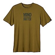 Mens prAna Mind/Matter Short Sleeve Non-Technical Tops