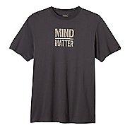 Mens prAna Mind/Matter Short Sleeve Non-Technical Tops