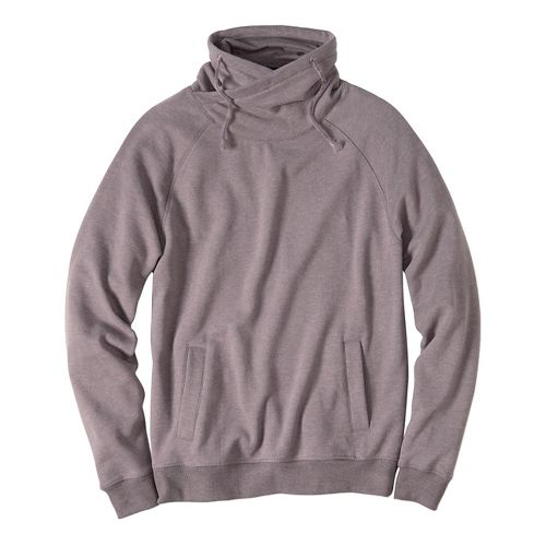 Mens prAna Fordham Hoodie & Sweatshirts Non-Technical Tops - Moonrock XL