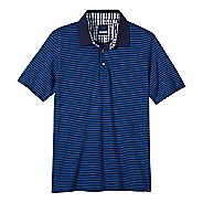 Mens prAna Shuffle Polo Short Sleeve Non-Technical Tops