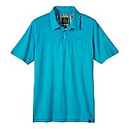 Mens prAna Marco Polo Short Sleeve Non-Technical Tops