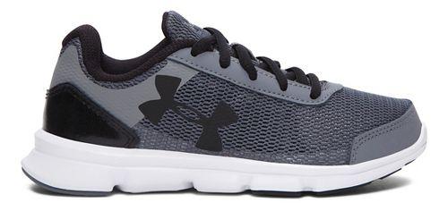 Kids Under Armour Speed Swift Running Shoe - Grey/Black 13C