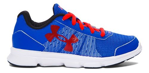 Kids Under Armour Speed Swift Running Shoe - Ultra Blue/Red 2Y