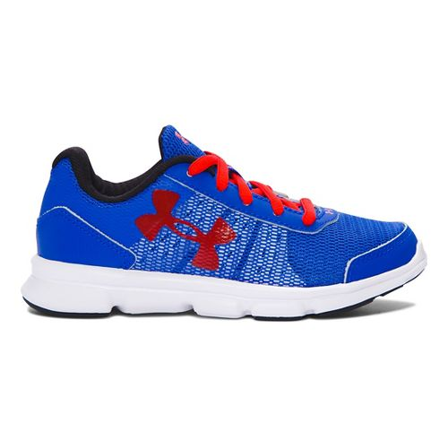 Kids Under Armour Speed Swift Running Shoe - Ultra Blue/Red 1.5Y