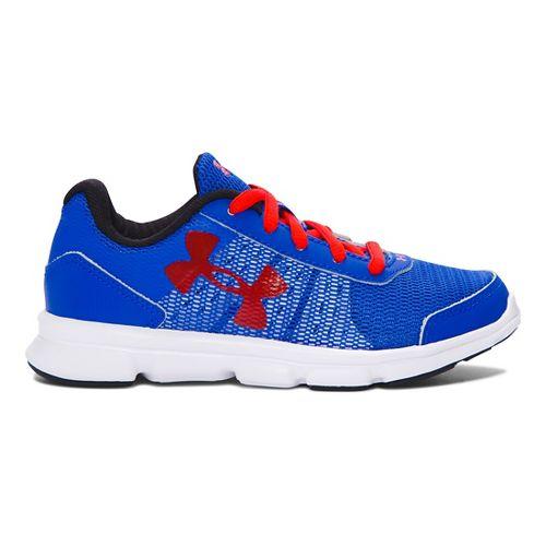 Kids Under Armour Speed Swift Running Shoe - Ultra Blue/Red 13.5C