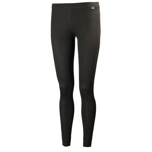 Womens Helly Hansen HH Dry Tights & Leggings Pants - Black XXL