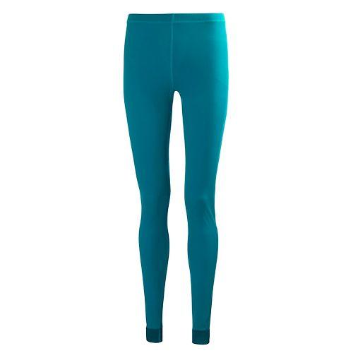 Womens Helly Hansen HH Dry Tights & Leggings Pants - Ocean Green S