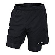"Mens 2XU Pace 7"" 2-in-1 Shorts"
