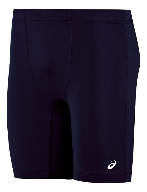 Mens ASICS Enduro Compression & Fitted Shorts - Navy/Navy M