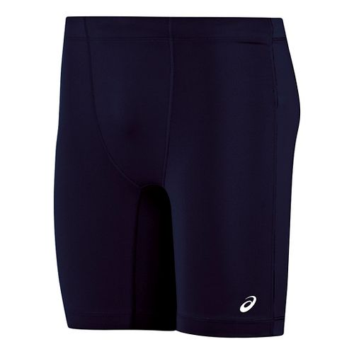 Mens ASICS Enduro Compression & Fitted Shorts - Navy/Navy S