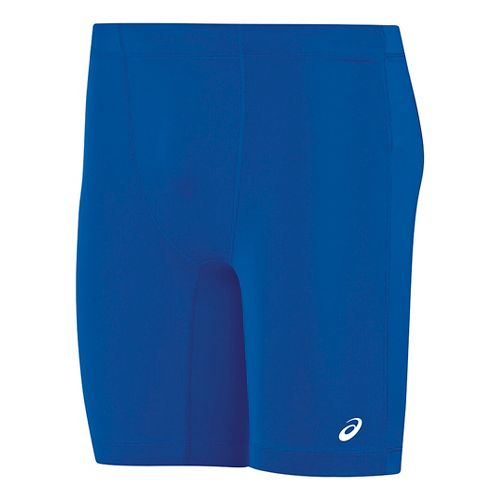 Mens ASICS Enduro Compression & Fitted Shorts - Royal/Royal S