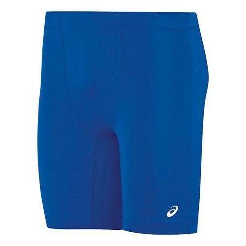 Mens ASICS Enduro Compression & Fitted Shorts - Royal/Royal XXL