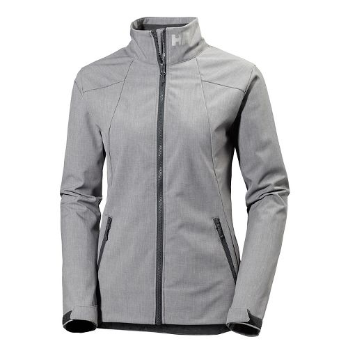 Womens Helly Hansen Paramount Cold Weather Jackets - Grey Melange L