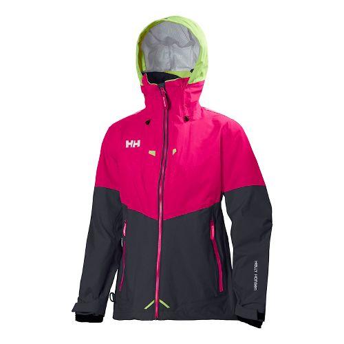 Womens Helly Hansen Salt Cold Weather Jackets - Magenta L